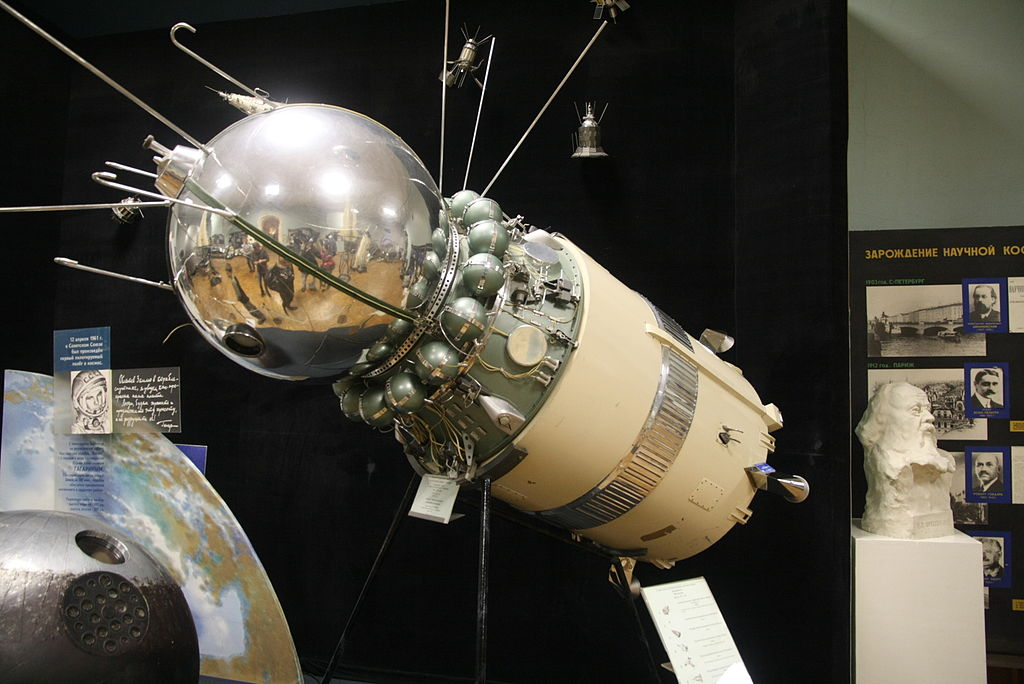 File Vostok Spacecraft With Third Stage Of Launch Vehicle