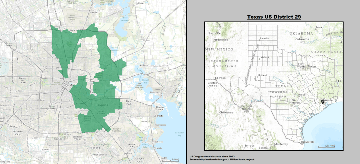 Texas Congressional Districts