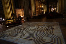 Labyrinth Of The Reims Cathedral Wikipedia