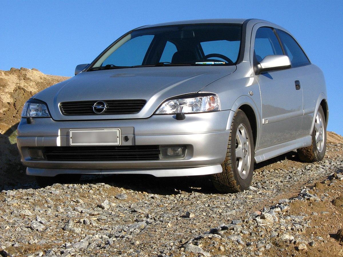Opel Astra G – Wikipedia, wolna encyklopedia