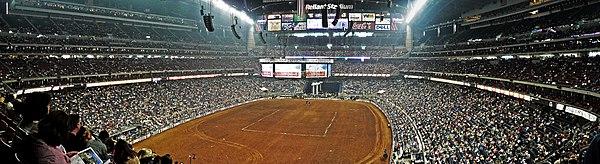 Rodeo Seating Chart Brown Zac Houston 2014