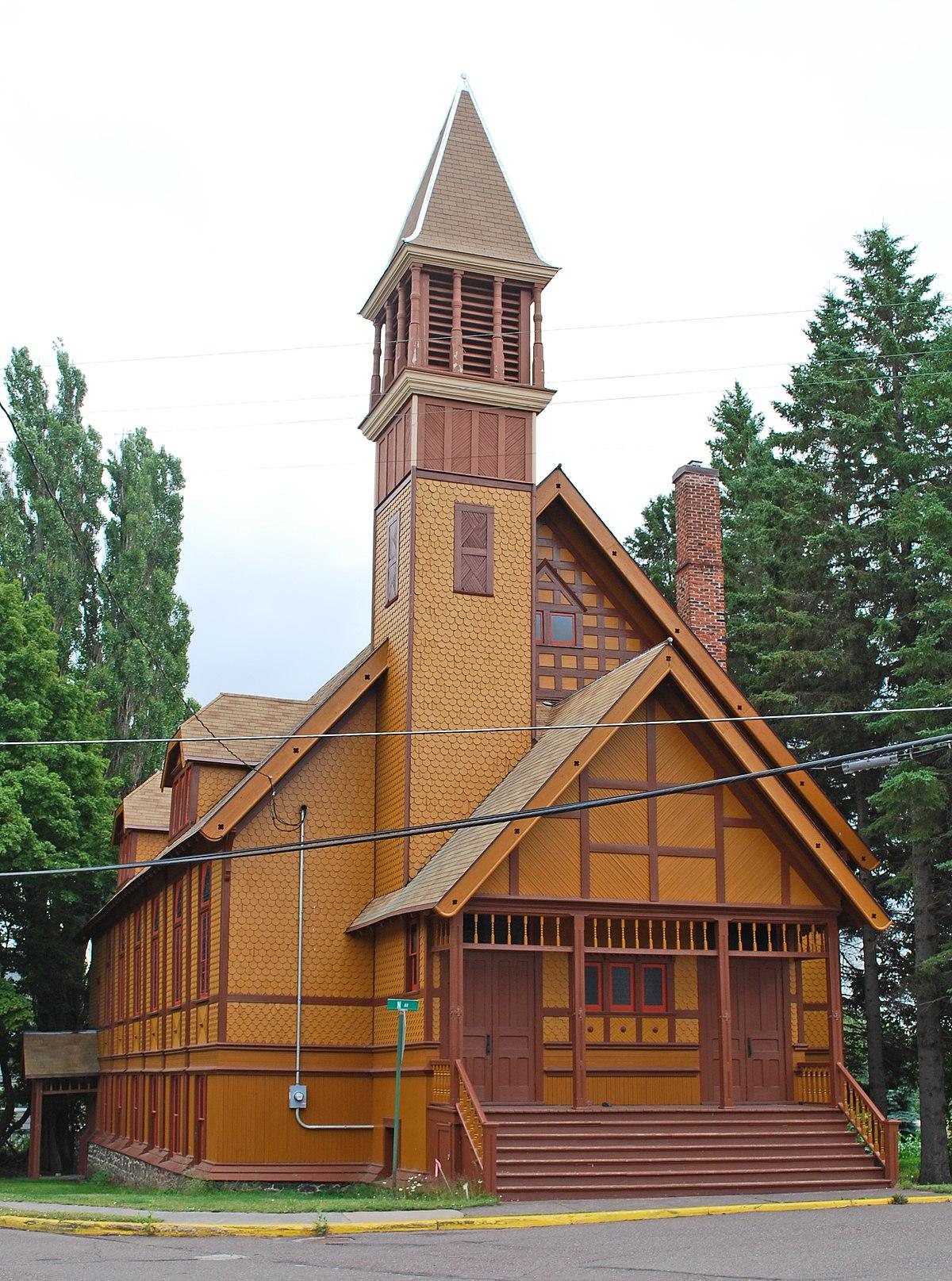 First Congregational Church Lake Linden Michigan