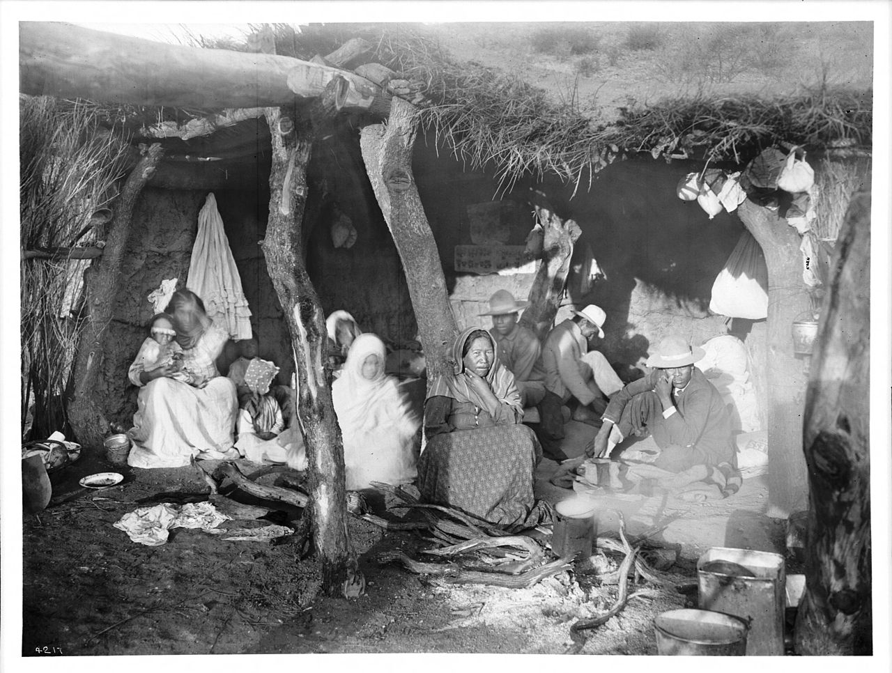 File A Family Of Escaped Yaqui Indians In Arizona Ca 1910