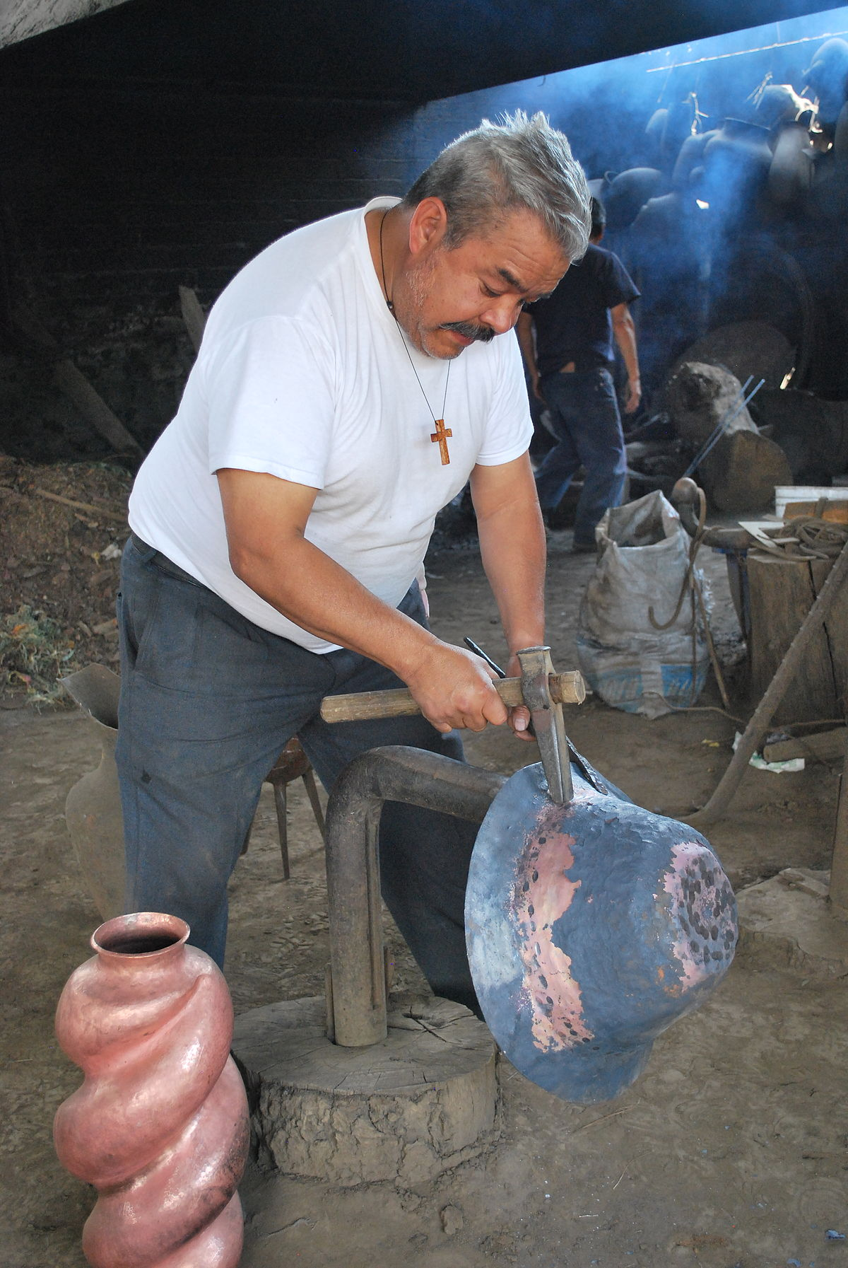 Traditional Copper Work In Mexico Wikipedia