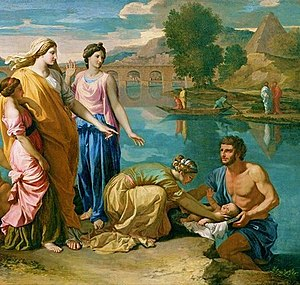 List of names for the biblical nameless   Wikipedia Nicolas Poussin s Moses rescued from the Nile  1638  shows Pharaoh s  daughter  who is unnamed in the Bible  but called Bithiah in Jewish  tradition