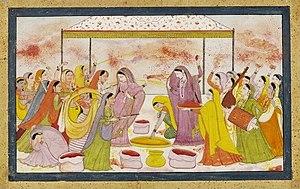 Pahari Painting Wikipedia