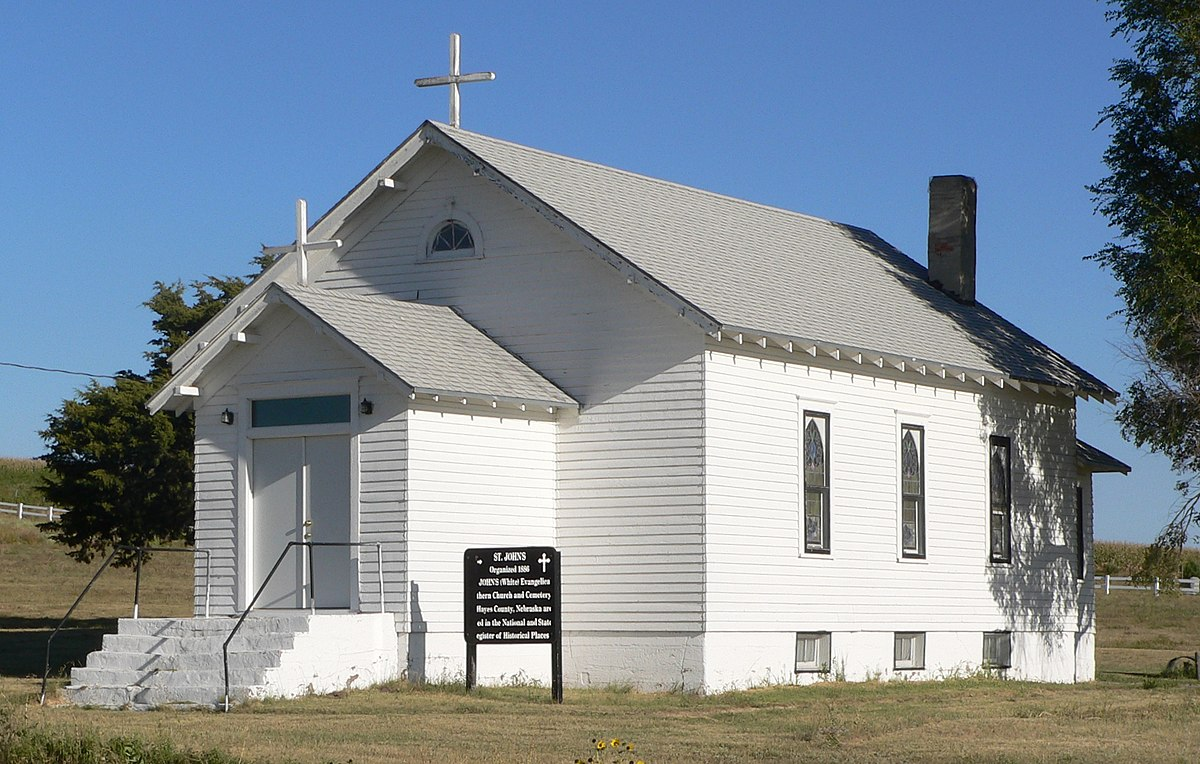 St. John's Evangelical Lutheran German Church and Cemetery ...