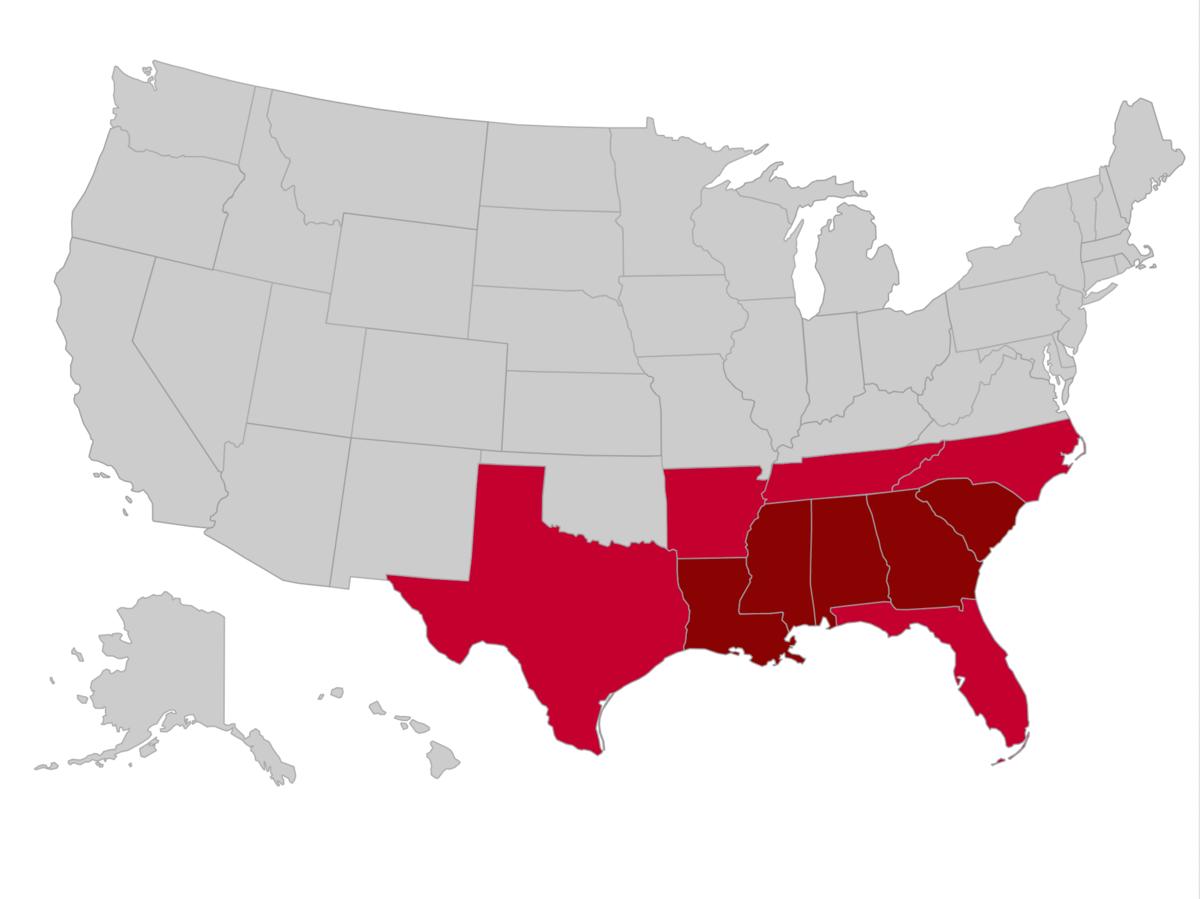 quiz Lizard Point map of USA