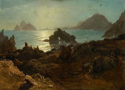 File:Albert Bierstadt - Farallon Islands (1872).jpg ...
