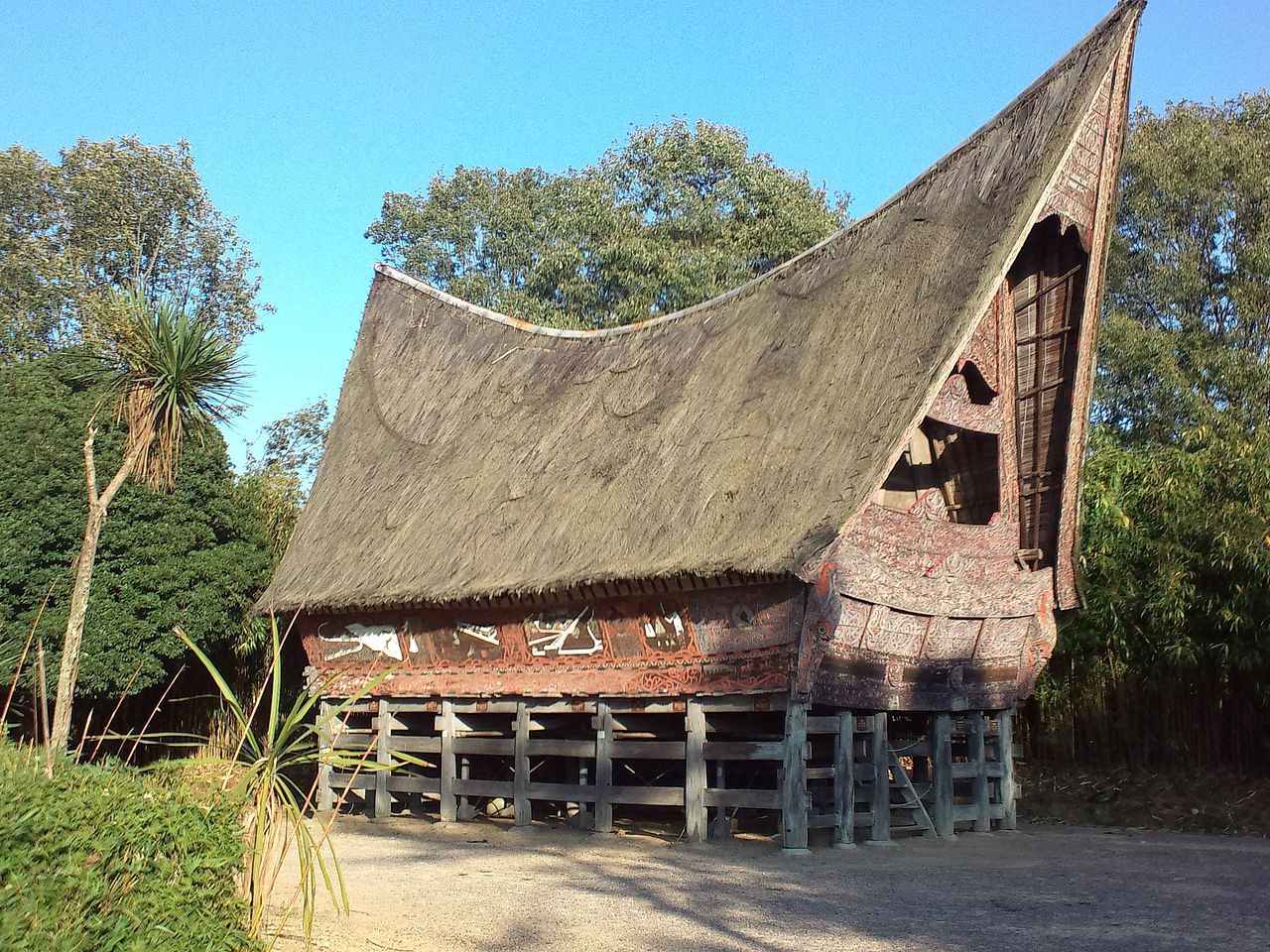 File Little World Aichi Prefecture Toba Batak House In