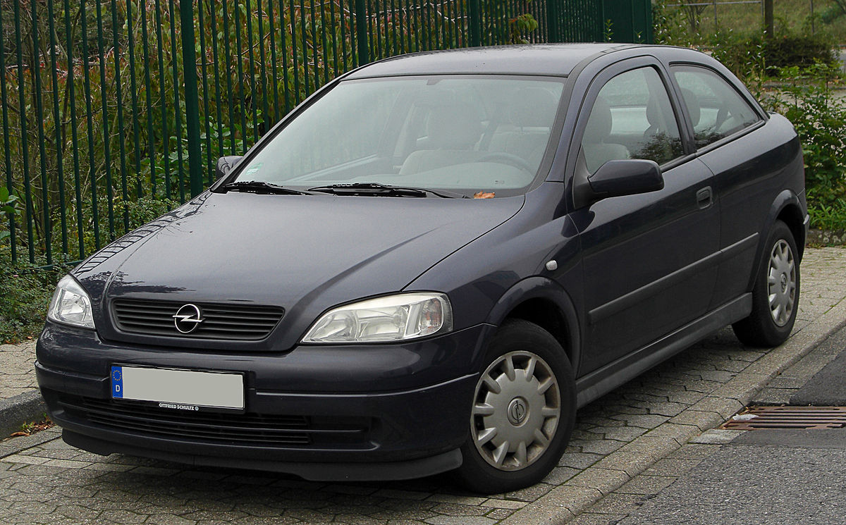 Opel Astra G — Вікіпедія
