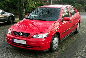 Opel Astra G — Википедия