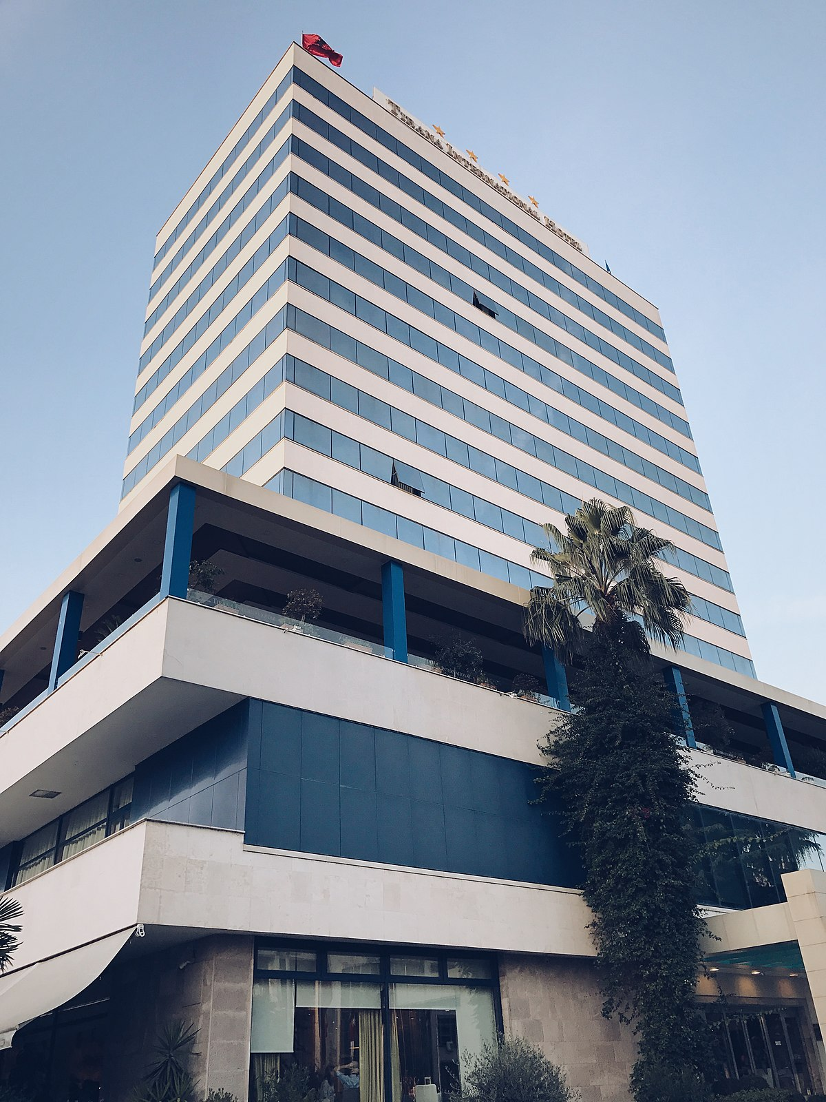 Tirana International Hotel Wikipedia