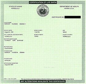 Barack Obama citizenship conspiracy theories - Wikipedia