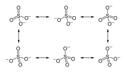 so4 2-lewis structure resonance - 1100×645