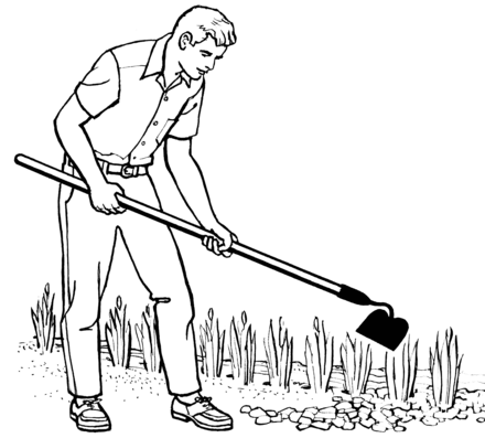 people gardening clip art - HD 2400×2146