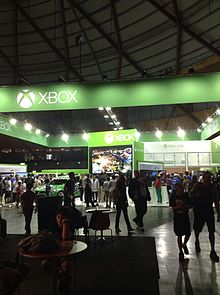 EB Games Expo   Wikipedia A view of the Xbox pavilion at the 2013 EB Games Expo
