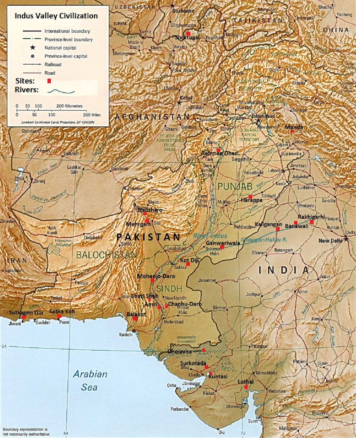Indus Valley Civilisation - Wikipedia