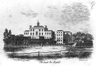 File:The Smallpox Hospital, St Pancras, London. Etching by ...