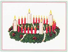Adventskranz – Wikipedia
