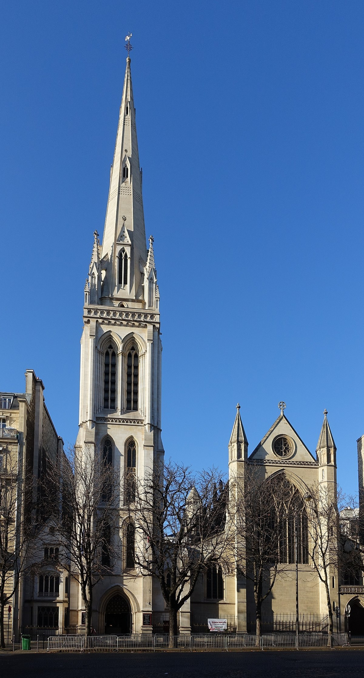 Cattedrale Della Santissima Trinit 224 Parigi Wikipedia