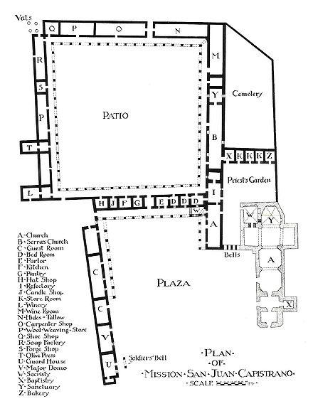 Floor Plan San Fernando Rey De Espana