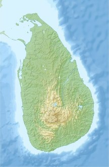 File Sri Lanka relief location map jpg   Wikimedia Commons File Sri Lanka relief location map jpg