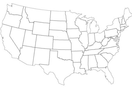 mapa de estados unidos para colorear » Full HD Pictures [4K Ultra ...