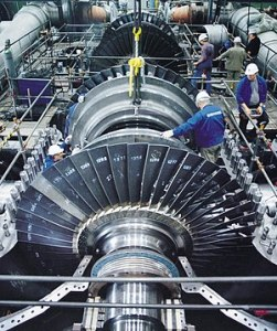 Technology   Wikipedia A steam turbine with the case opened  Such turbines produce most of the  electricity used today  Electricity consumption and living standards are  highly