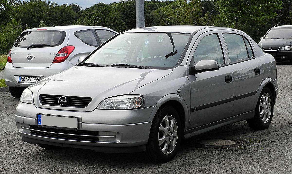 Opel Astra G — Wikipédia