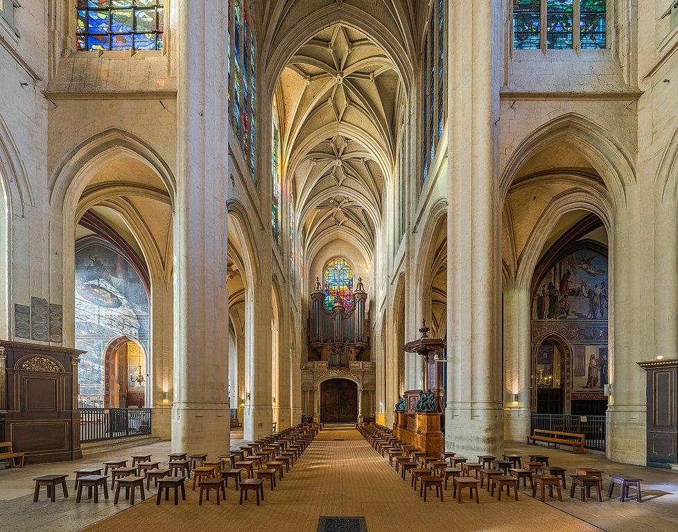 File Church Of St Gervais Et St Protais Interior 2 Paris