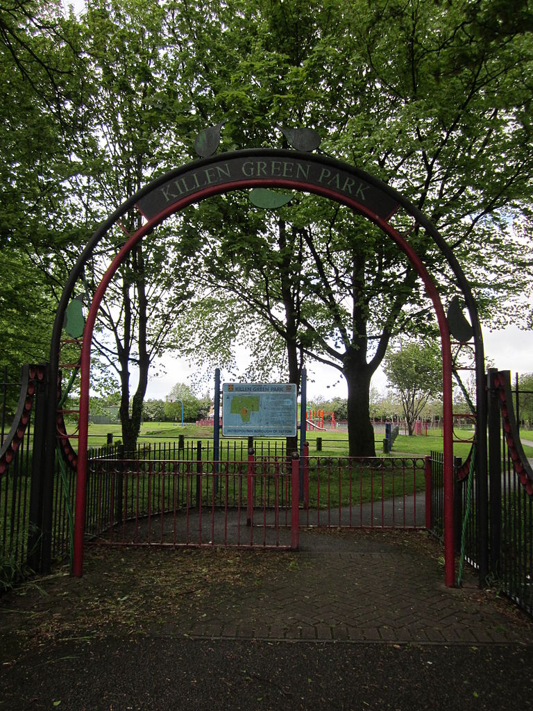 File Entrance To Killen Green Park Merseyside Jpg