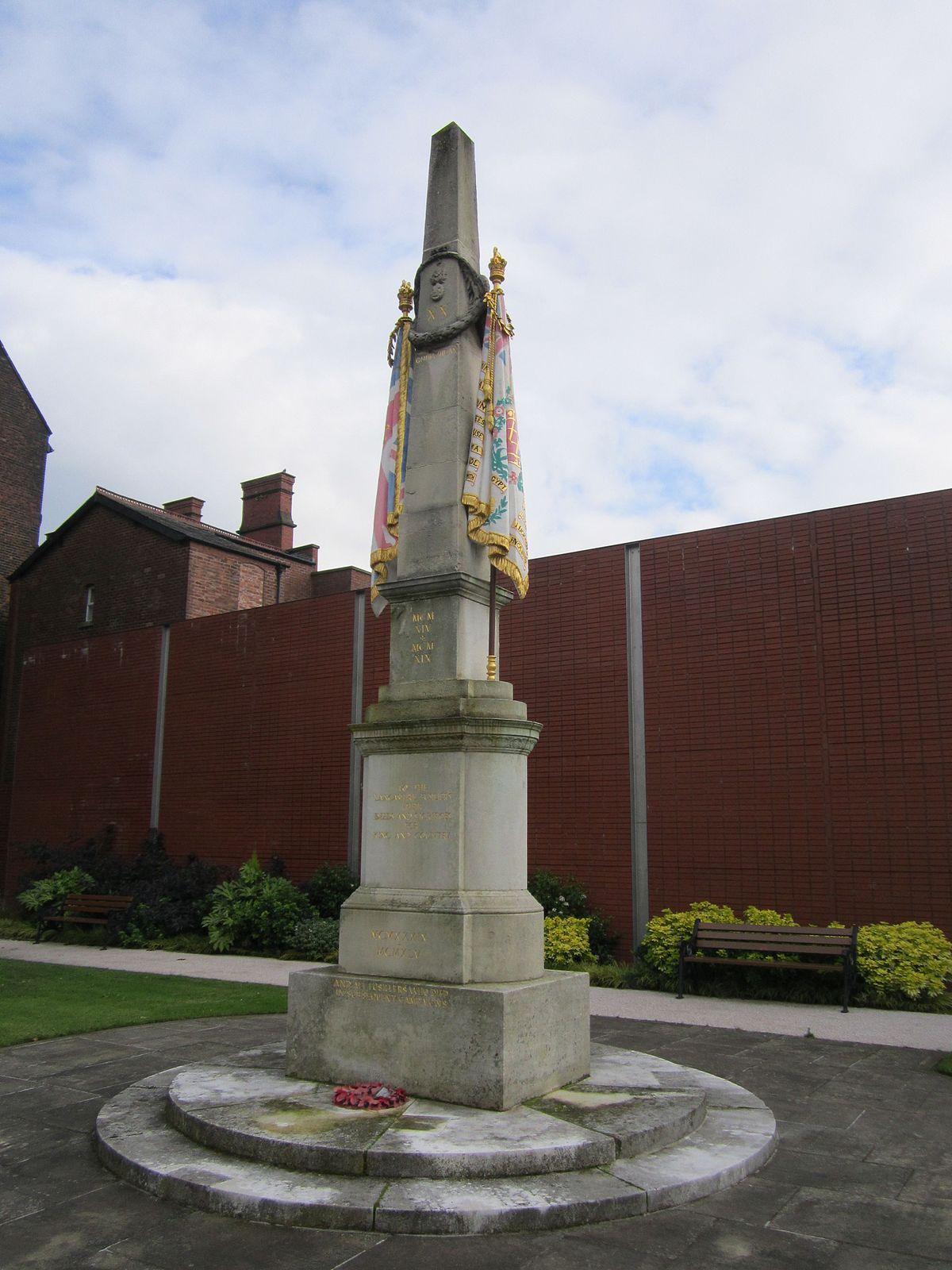Lancashire Fusiliers War Memorial Wikipedia