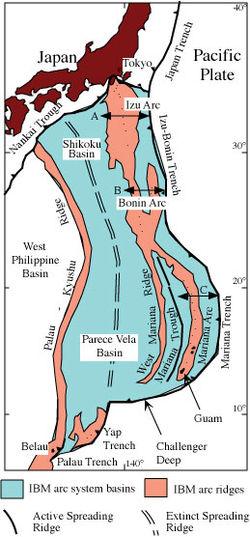 Izu-Bonin-Mariana Arc - Wikipedia