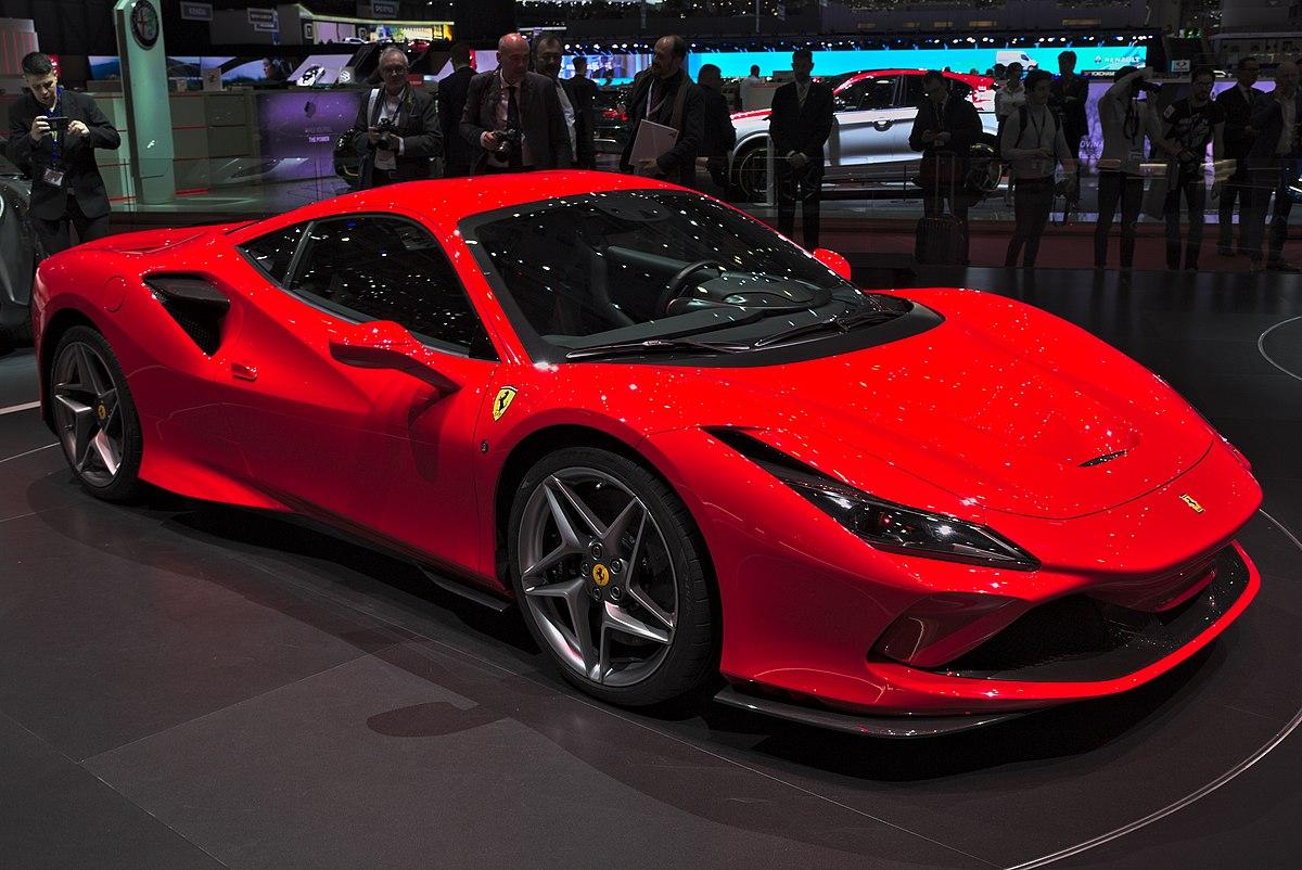 Ferrari F8 Tributo - Wikipedia