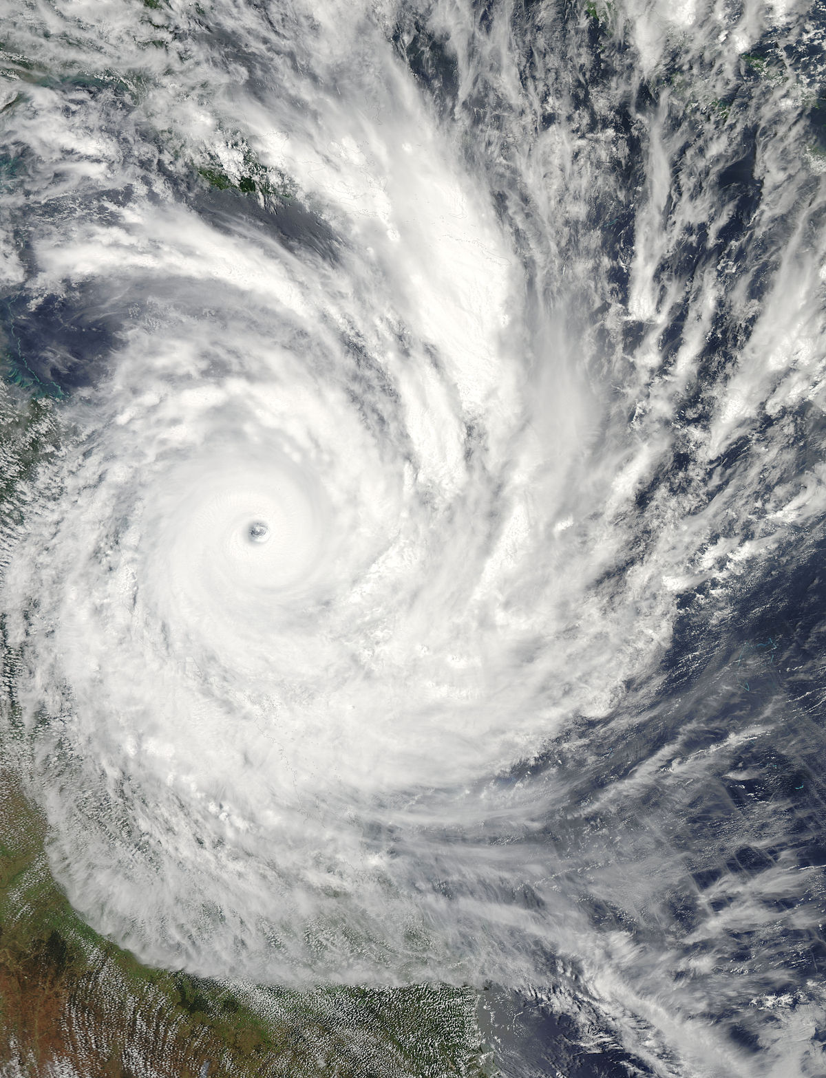 Cyclone Yasi   Wikipedia