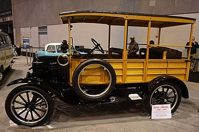 Ford Model T   Wikipedia 1923 Ford Model T Depot Hack