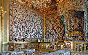 Palace of Fontainebleau   Wikipedia Queen s bedroom edit