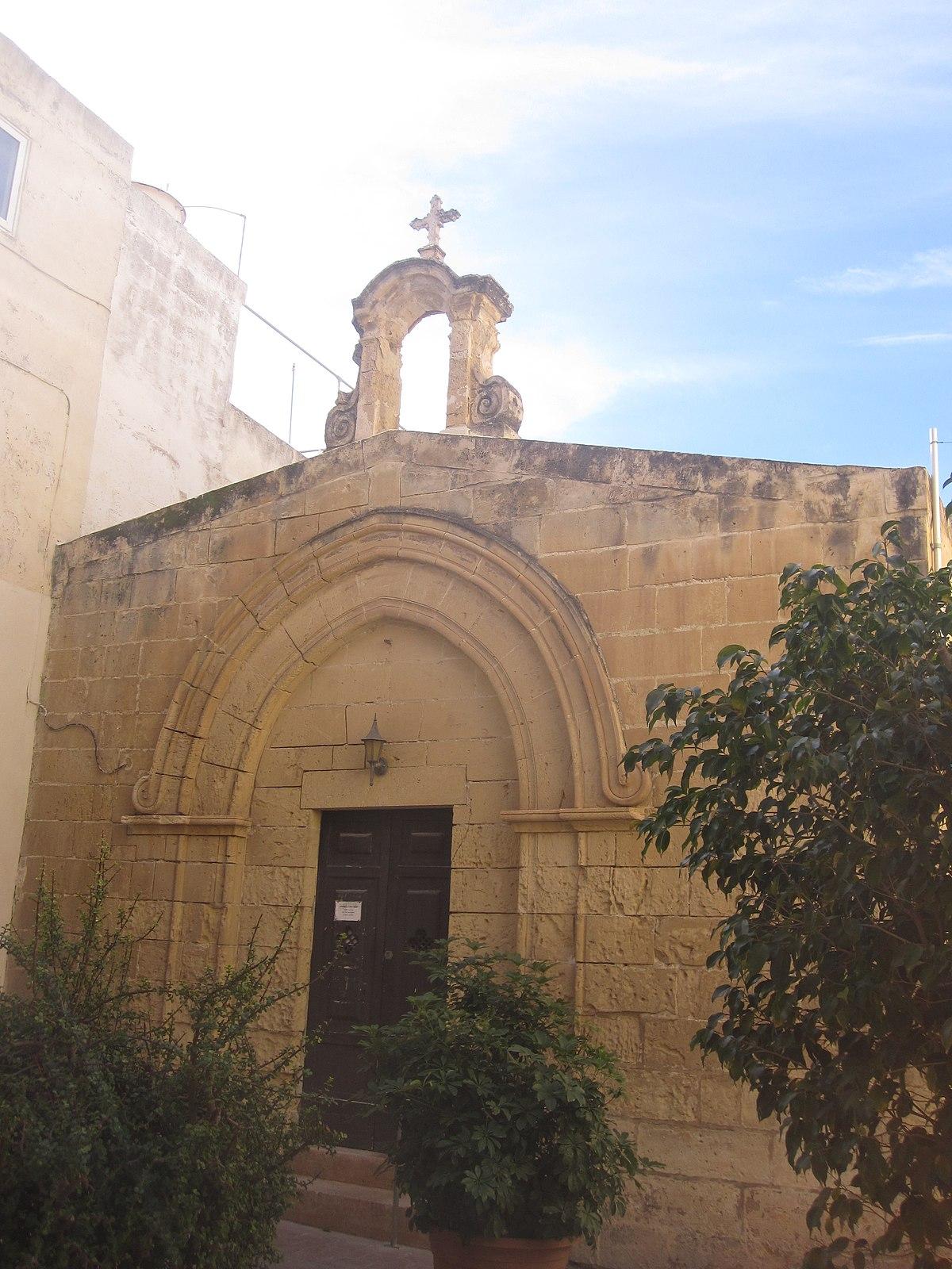 St Bartholomew S Chapel Rabat Wikipedia