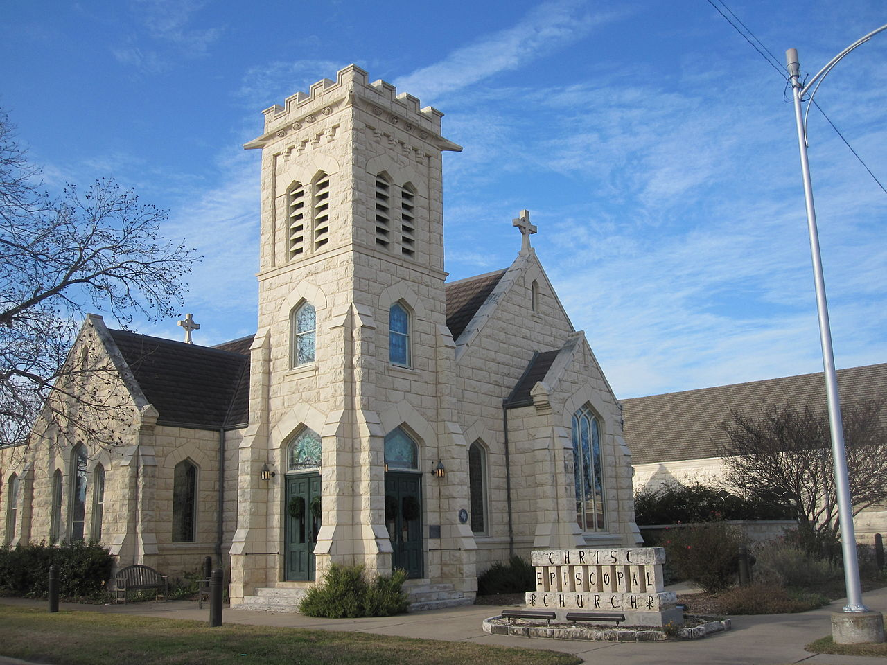 File Christ Episcopal Church In Temple Tx Img 2390 Jpg Wikimedia Commons