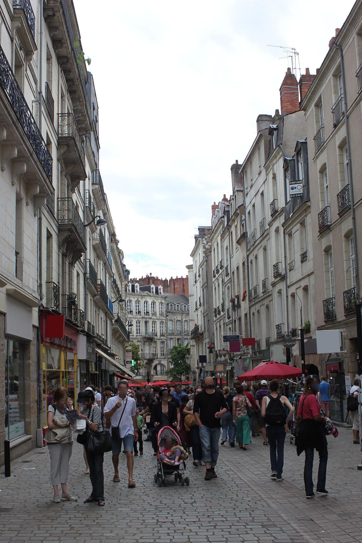 Rue De Verdun Nantes Wikip 233 Dia