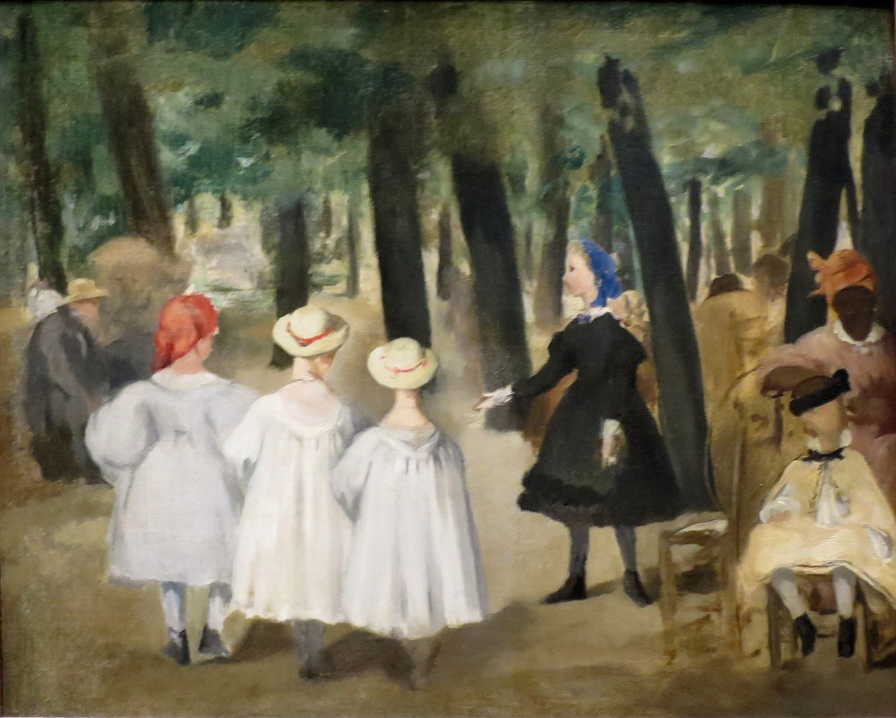 File Children In The Tuileries Garden By 201 Douard Manet