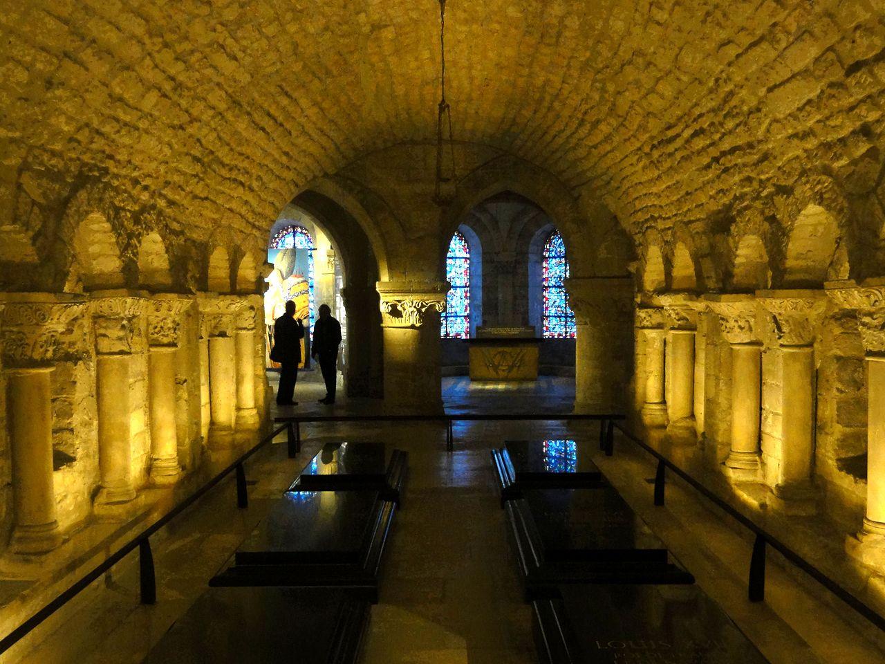 File Saint Denis 93 Basilique Crypte D Hilduin 2 Jpg