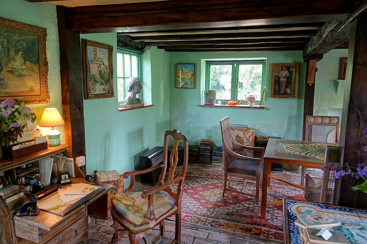 File Sitting Room Monk S House Rodmell East Sussex