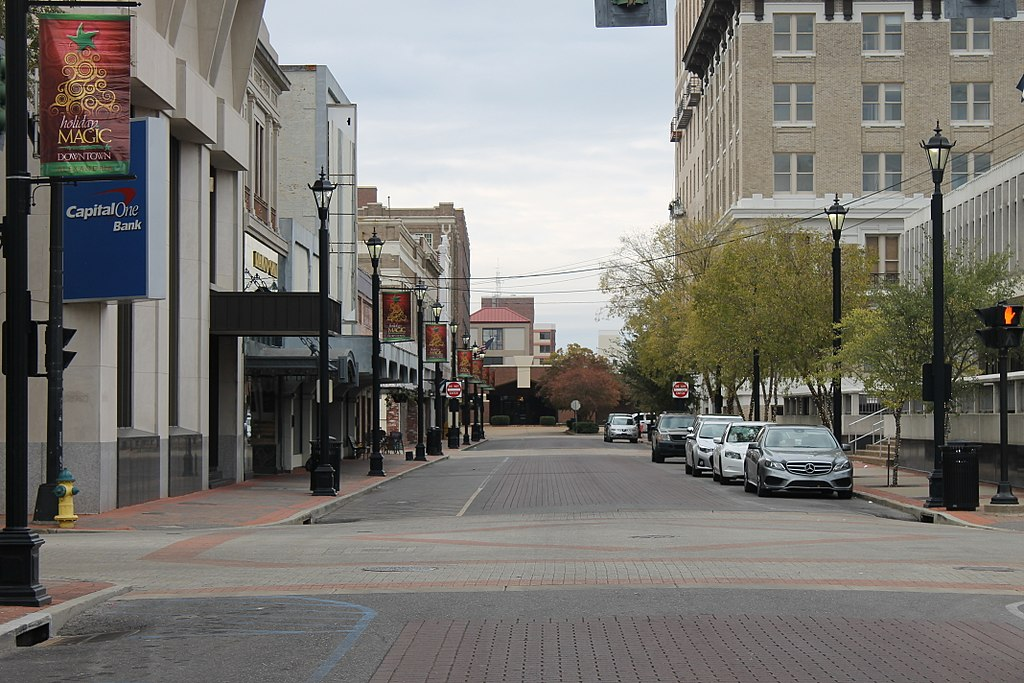 File Downtown Third Street In Alexandria La Img 4316 Jpg