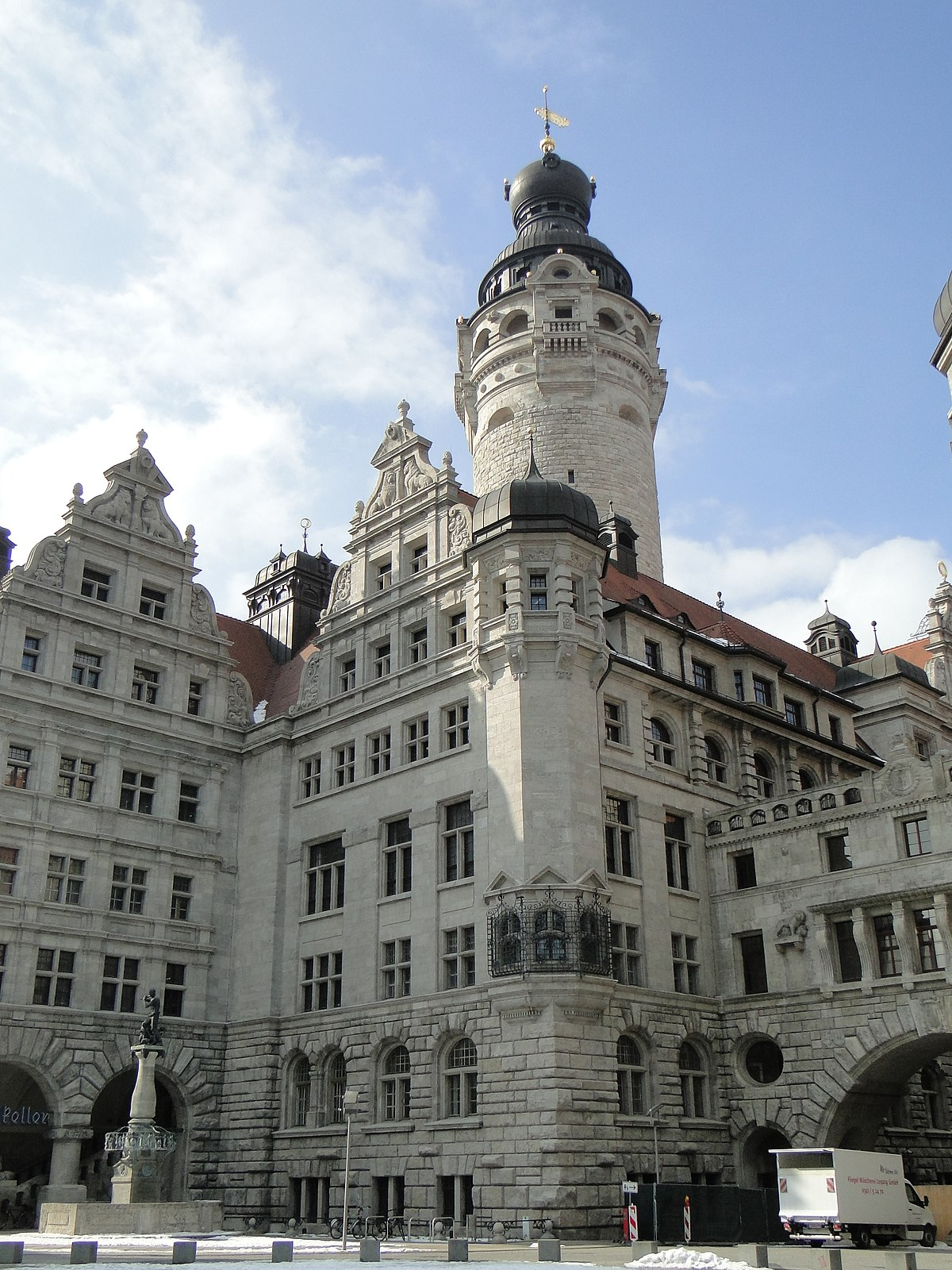 New Town Hall Leipzig Wikipedia