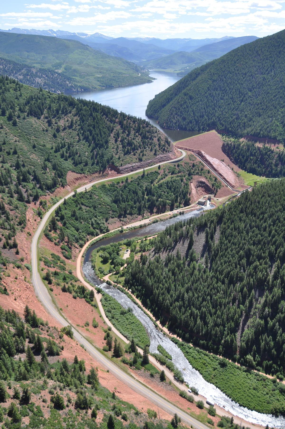 Ruedi Reservoir Wikipedia