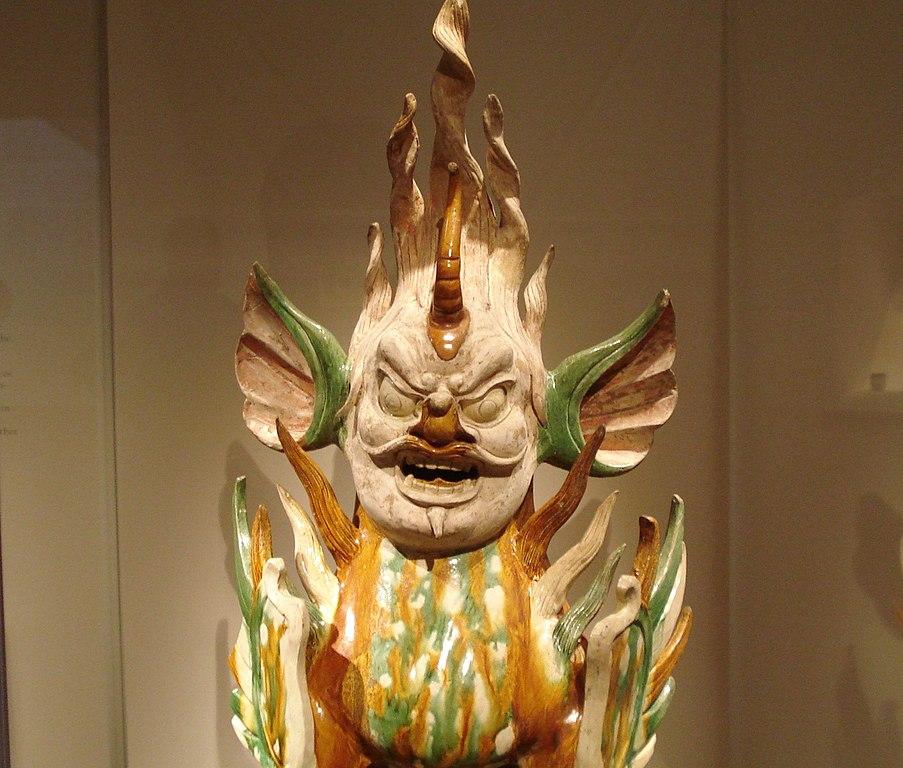 File Sancai Earthenware Tomb Guardian Tang Dynasty Jpg
