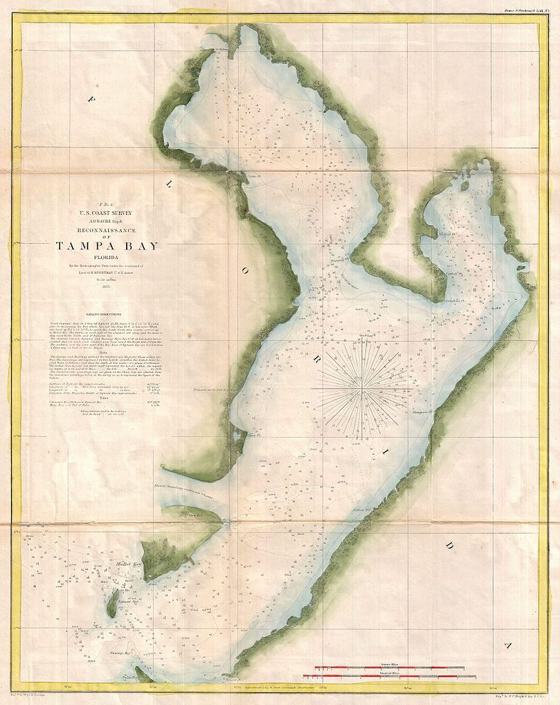 Map Western Florida Coast