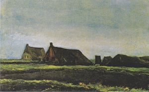 Cottages Van Gogh Series Wikipedia